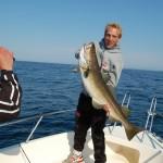 Fredrik torsk 14kg