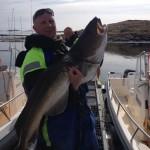 Sanslöst torskfiske, första över 20kg