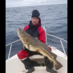 Bra fiske på sydsidan!