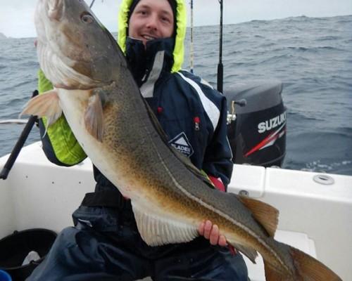 17kg torsk för Henrik!